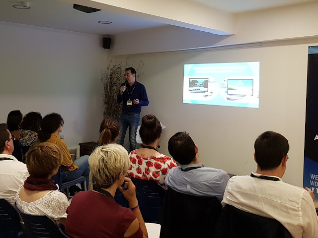 Foto charla Raul Maraña encuentro redactores digitales via Alvaro Fontelo