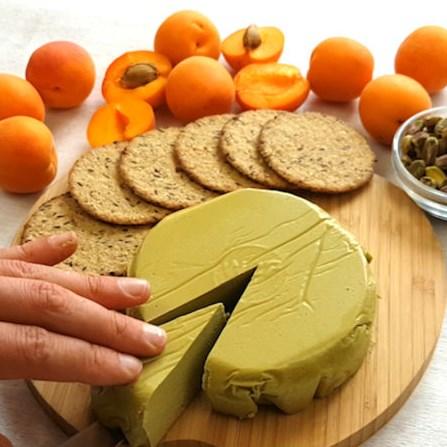 PISTACHIO NUT CHEESE RECIPE #vegancheese #dairyfree