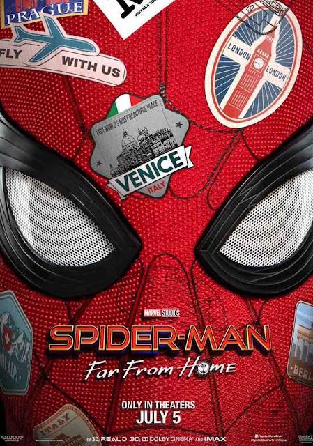 Poster untuk spiderman far from home