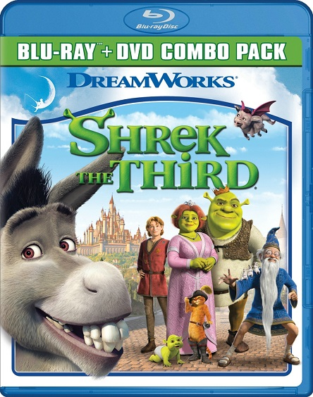 Shrek The Third (Shrek Tercero) (2007) 720p y 1080p BDRip mkv Dual Audio AC3 5.1 ch