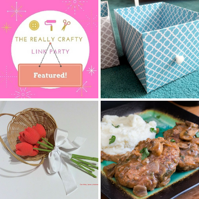 The Really Crafty Link Party #100 featured posts