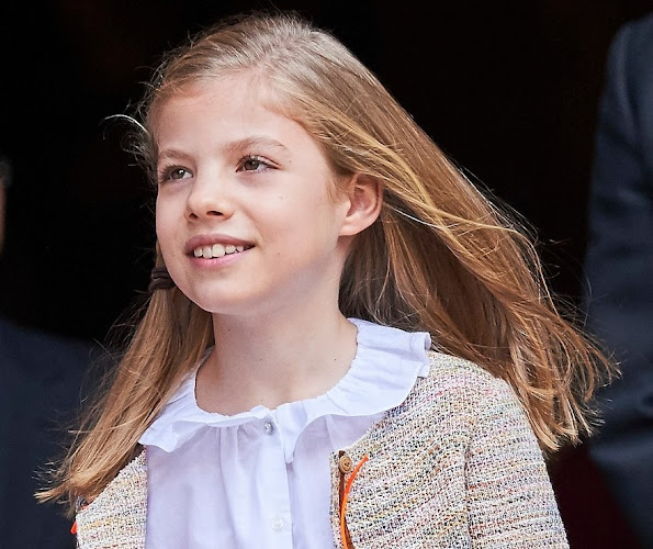 Happy 9th birthday to Princess Sofía of Spain