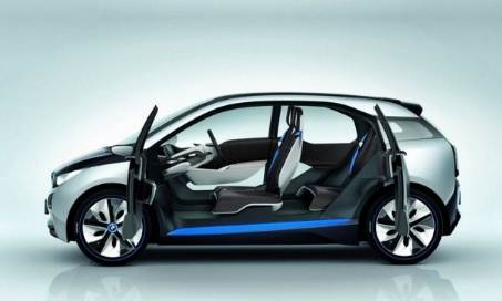 2017 BMW i3 with More Electric Range