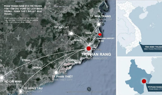 vị trí dự án căn hộ sunbay park hotel ninh thuận hotline 0896356386