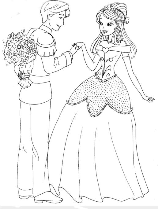 Desenhos Para Colorir Desenhar E Pintar Desenhos De Princesas