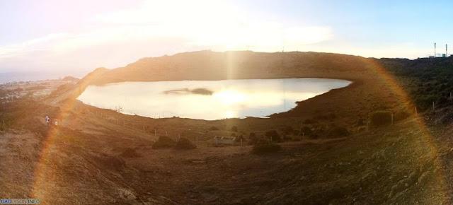 Hồ chứa nước ngọt trên núi