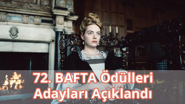 72. BAFTA Ödülleri Adayları