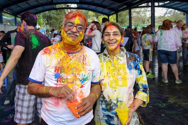Holi: Festival of Colors 2019 in Hanoi