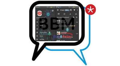 BBM Mod Tema Jarvis Ironman v2.13.1.14 Apk Terbaru
