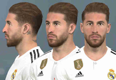 PES 2017 Faces Sergio Ramos by WER