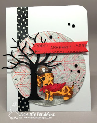 Dress Up Doxie | Newtons Nook Designs | Card Created by Danielle Pandeline