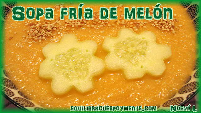 sopa fria de melon