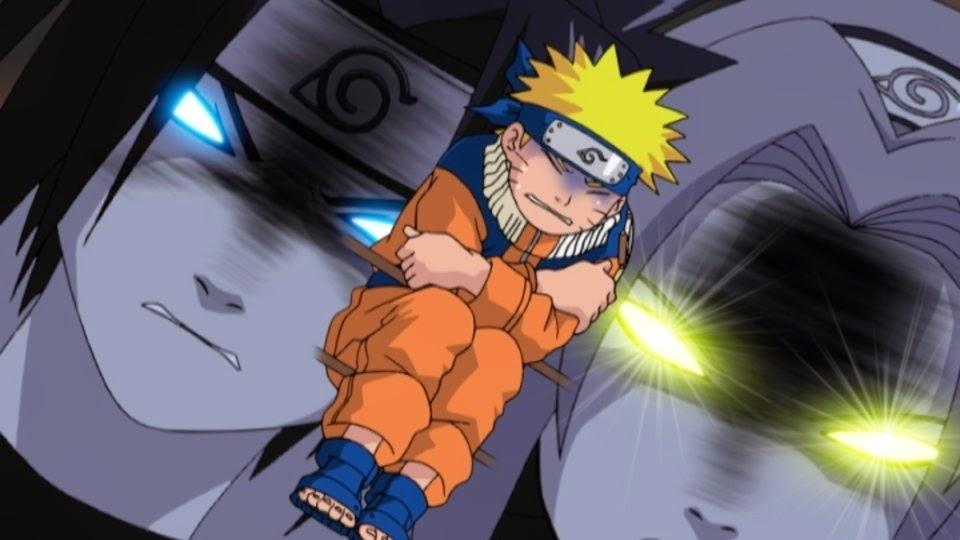 Naruto asustado