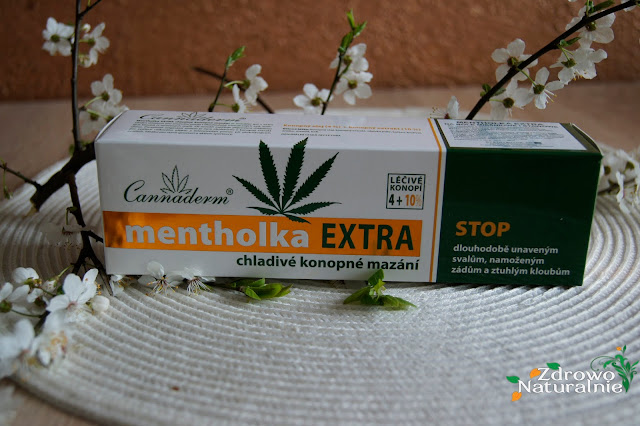 Cannaderm - Mentholka Extra na bóle mięśniowe i stawowe
