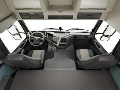 cabine de caminhão