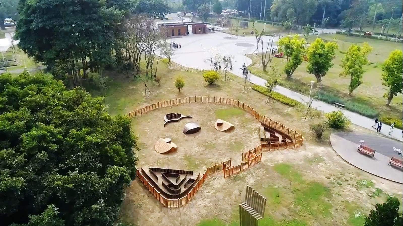 🐶隱藏版上帝視角超卡哇伊!台南山上水道博物館寵物遊憩專區登場