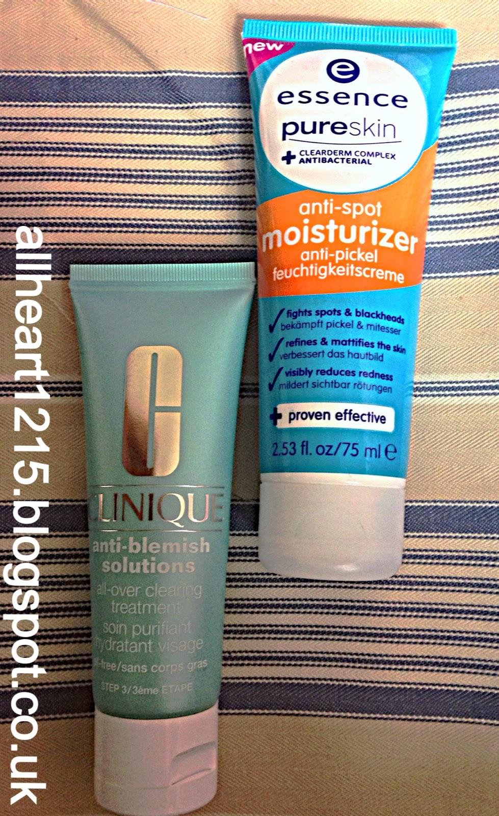 Beauty Blog Dupe 6 Clinique Anti Blemish Solutions Moisturiser