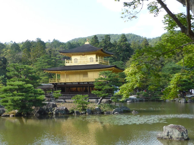 Pabellón dorado de Kyoto