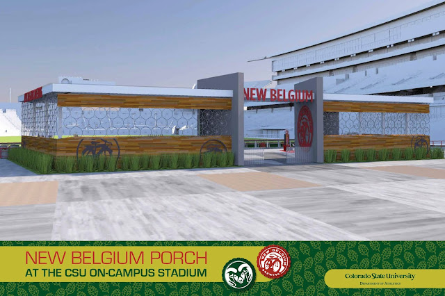 New Belgium Porch at CSU Stadium