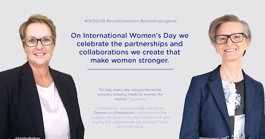 International Women's Day 2018 - Progress through Collaboration and Partnership