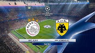 نتيجة واهداف مباراة اياكس امستردام و ايك أثينا اليوم الأربعاء 19-9-2018 Ajax vs AEK Athens Highlights
