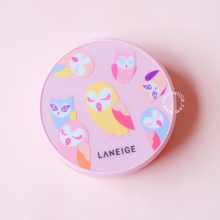 LANEIGE X LUCKY CHOUETTE BB CUSHION WHITENING REVIEW