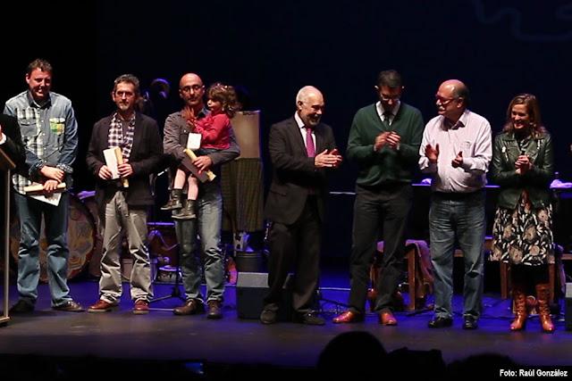 Gala en el Teatro Barakaldo para la entrega de premios