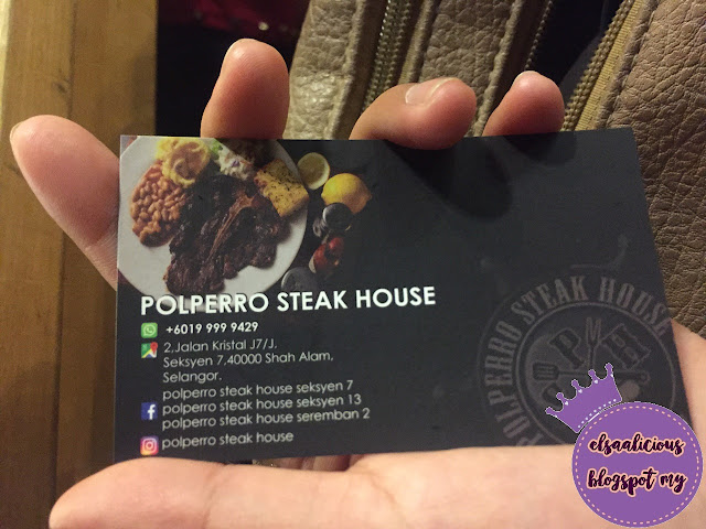 Food Review: Polperro Steak House, Shah Alam