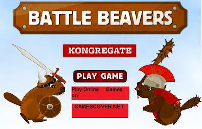 Play Battle Beavers Online Game