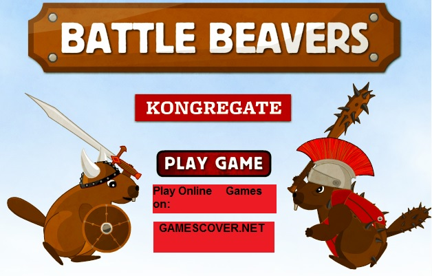 Play Battle Beavers Online Game