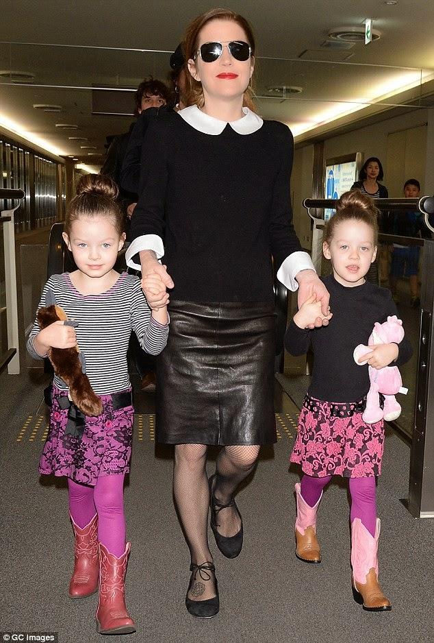 Lisa Marie Presley Children 2014 LISA MARIE PRESLEY - T...