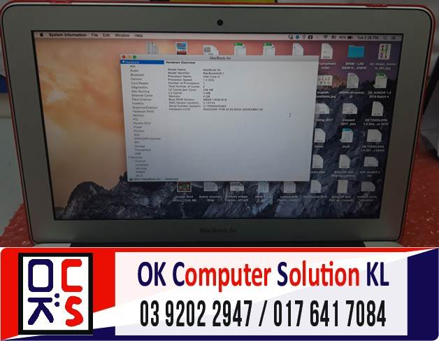 [SOLVED] MASALAH MACBOOK AIR NO DISPLAY | REPAIR LAPTOP AMPANG 3