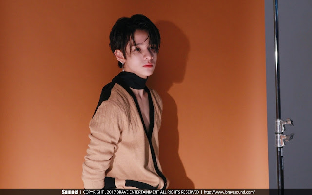 Samuel (사무엘) x DAZED Behind