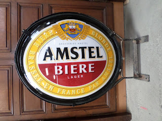 Wholesale French Antiques Amstel Beer Bistrot Sign