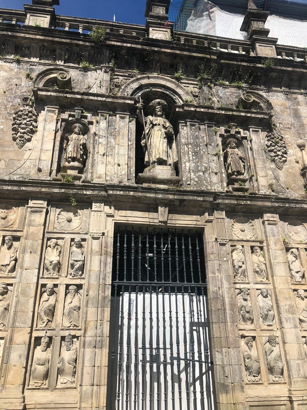 Um dia em Santiago de Compostela, Espanha