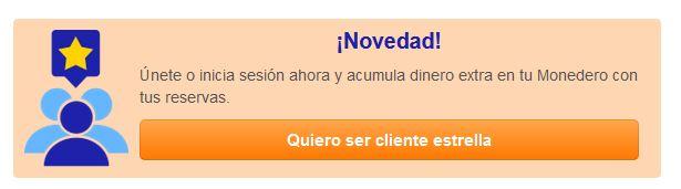 Programa de fidelización Centraldereservas.com