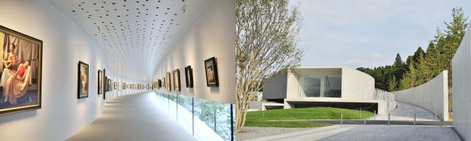 アートアジェンダ 美術館 展覧会レポート ホキ美術館 館内 外観