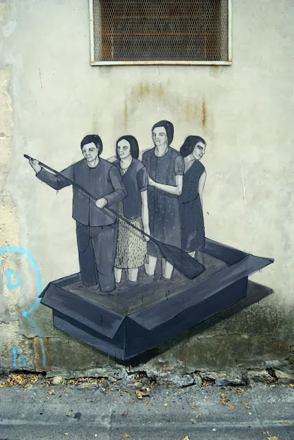 Part II of Hyuro's Street Art On The Streets Of Arles, France. 1