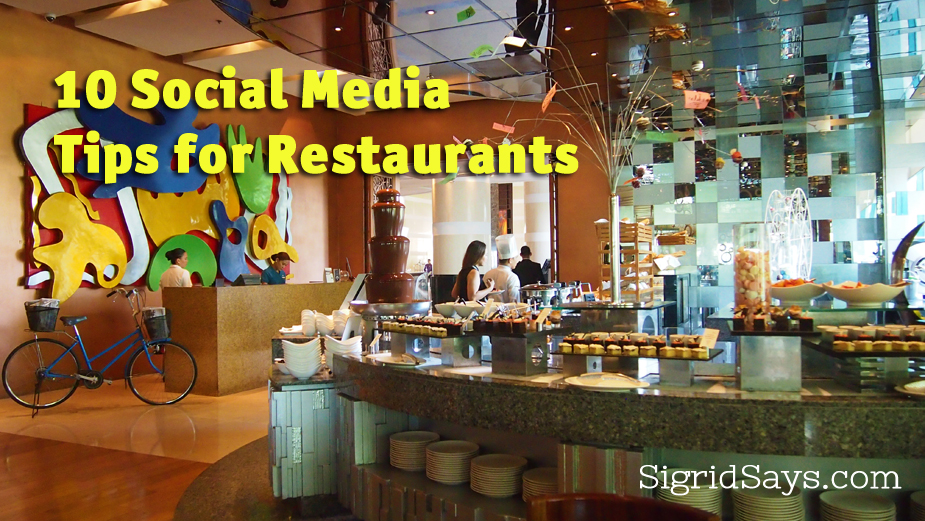 social media tips for restaurants - Bacolod restaurants