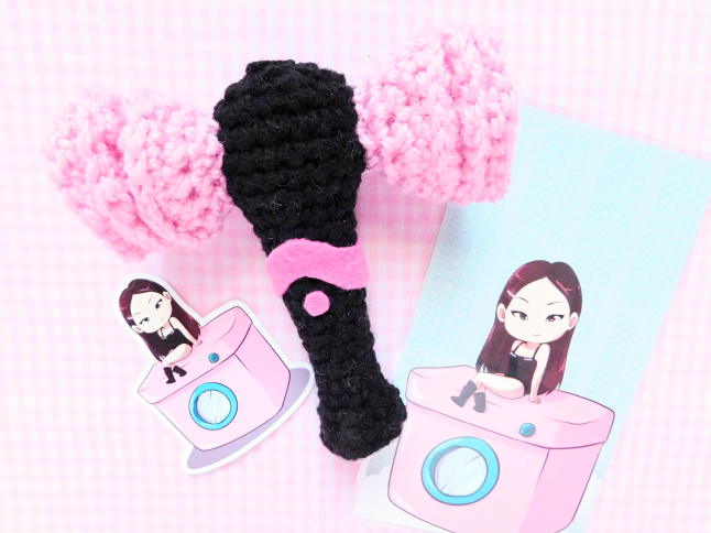 BLACKPINK Fan Stick Crochet Pattern