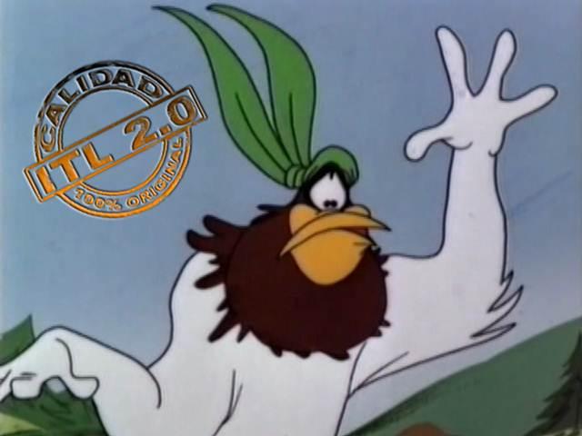 Dibujos Animados De Un Gallo