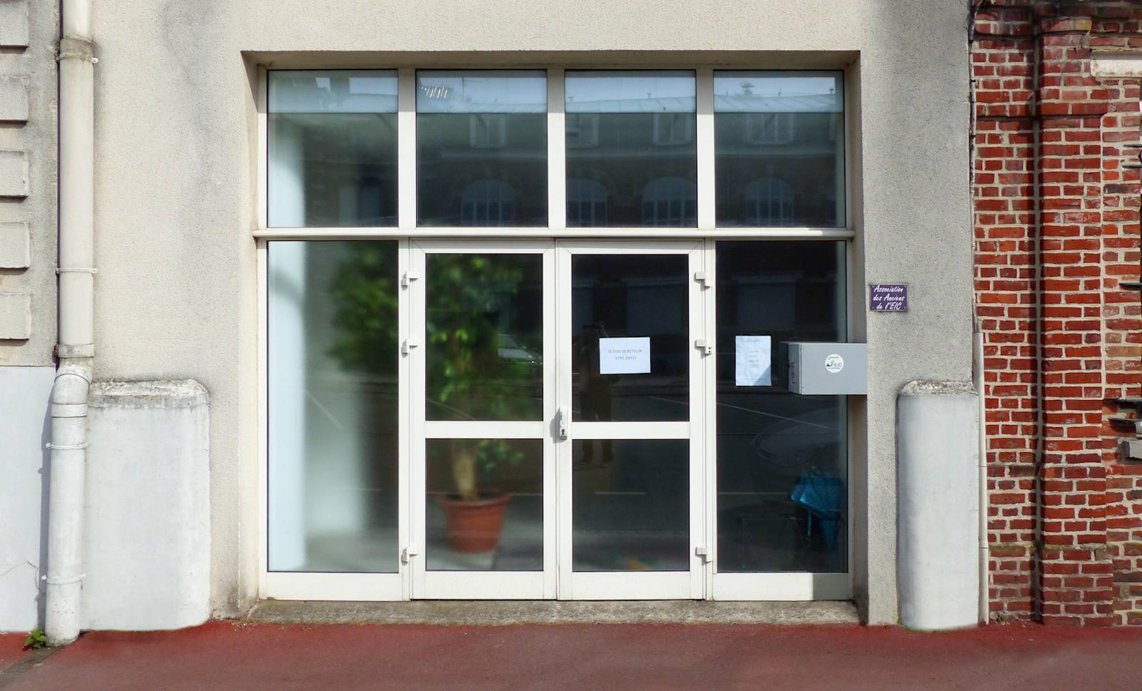 Association des Anciens Élèves de l'EIC - Entrée principale