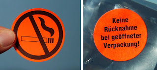 leuchtende etiketten für laserdrucker