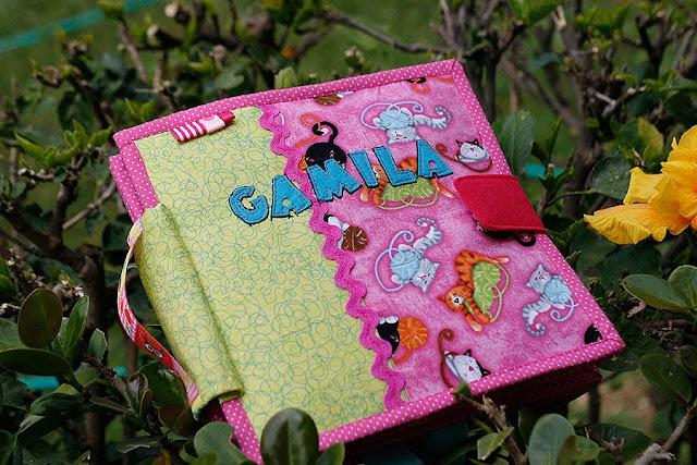 Quiet book for Camila