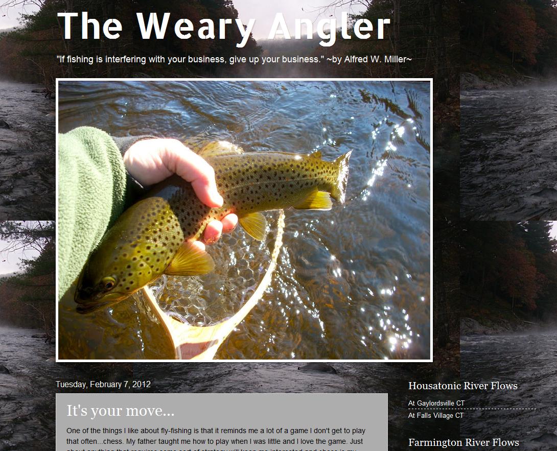 Troutrageous! Fly Fishing & Tenkara Blog: 02/01/2012 - 03/01