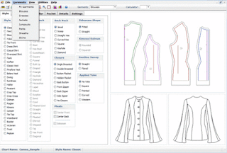 Cameo Apparel Pattern Software