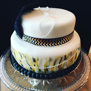 1920s Themed Cake