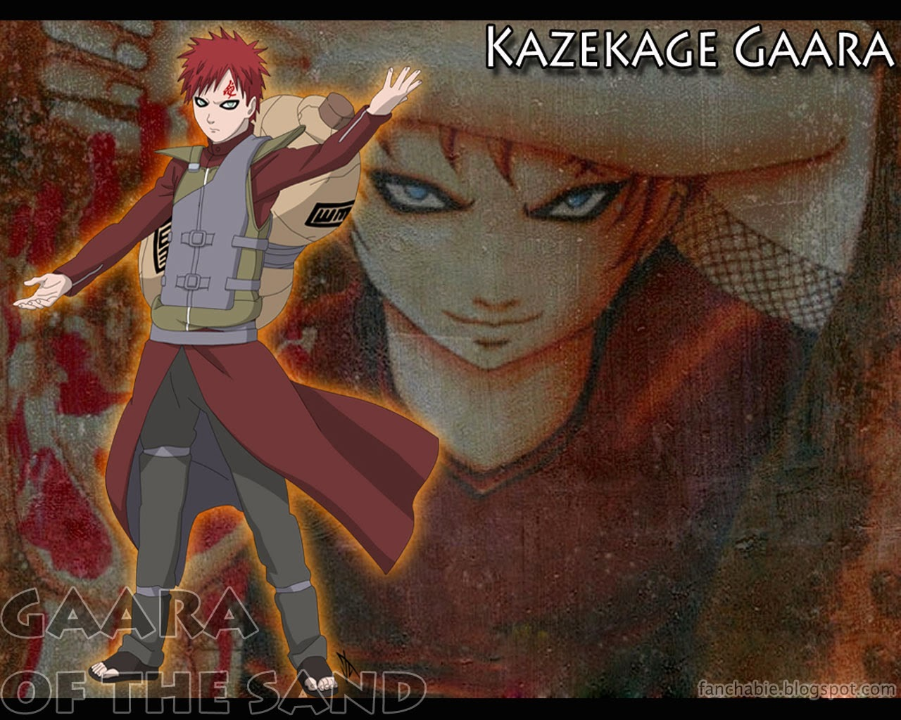 Kazekage of gaara wallpapers