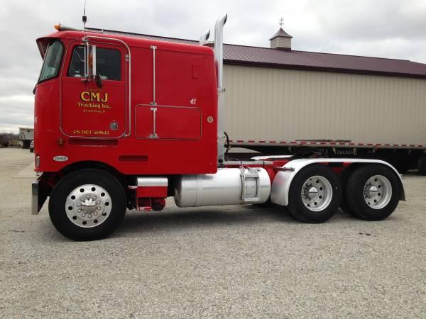 1993 Peterbilt Cabover Truck Old Truck