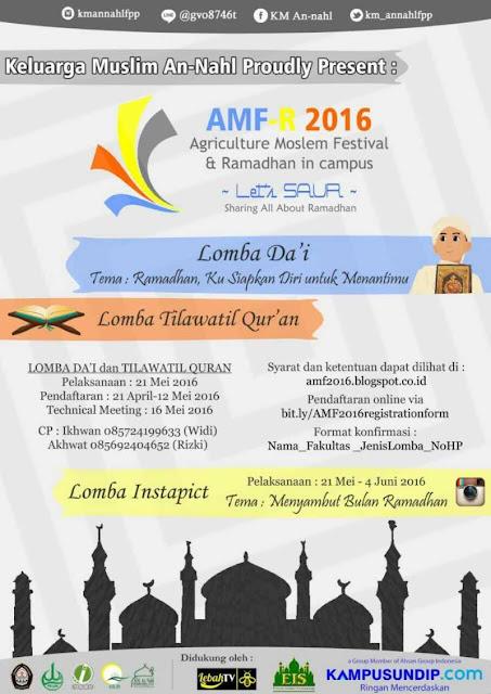 AMF-Ramadhan KM An-Nahl FPP Undip 2016